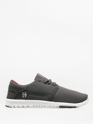 Boty Etnies Scout (dark grey/white/red)