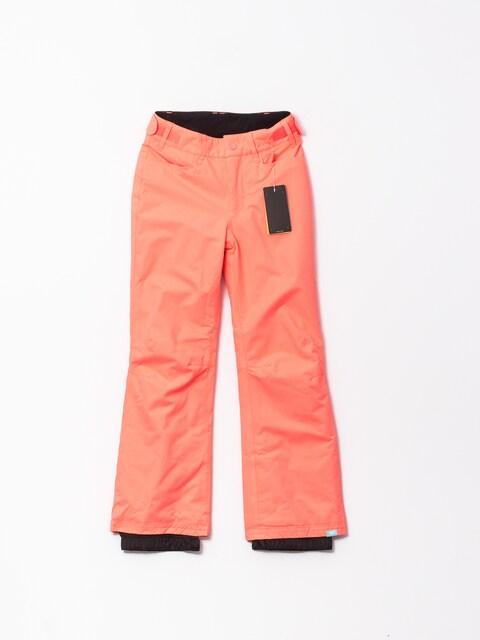 Snowboardové kalhoty  Roxy Backyard Gir (neon grapefruit)