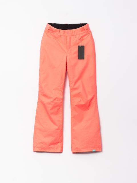 Snowboardové kalhoty  Roxy Backyard Gir (neon grapefriut)