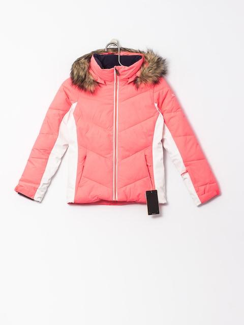 Snowboardová bunda Roxy Snowstorm (neon grapefriut)