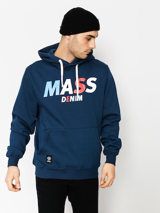 Mikina s kapucí MassDnm Grand HD (navy)