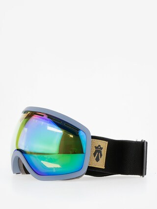 Brýle na snowboard Majesty One11 (indigo/green emerald/clear citrine)