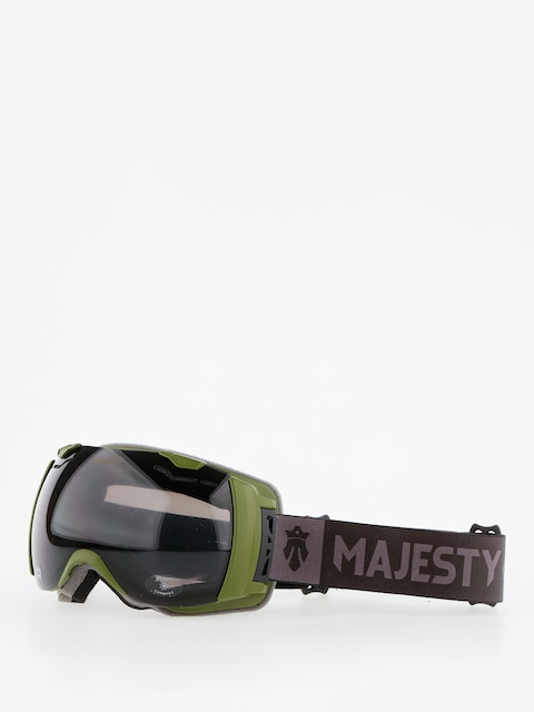 Brýle na snowboard Majesty Spectrum (army green/black pearl/clear citrine)