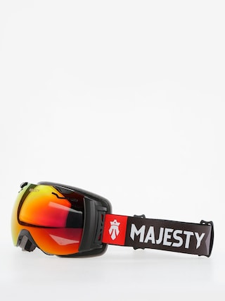Brýle na snowboard Majesty Spectrum (matt black/red ruby mirror/clear citrine)
