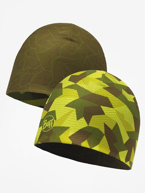Čepice Buff Microfiber Reversible (block camo green)