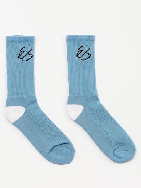 Ponožky Es Script (light blue)