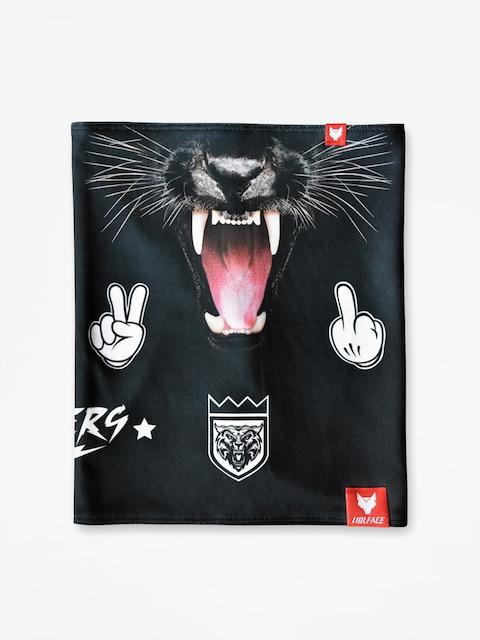 Šátek Wolface Black Panther