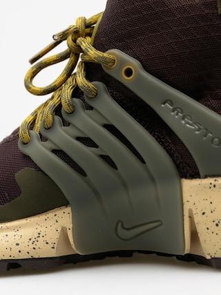 Nike Boty Air Presto Utility Mid Top (velvet brown/cargo khaki mushroom)