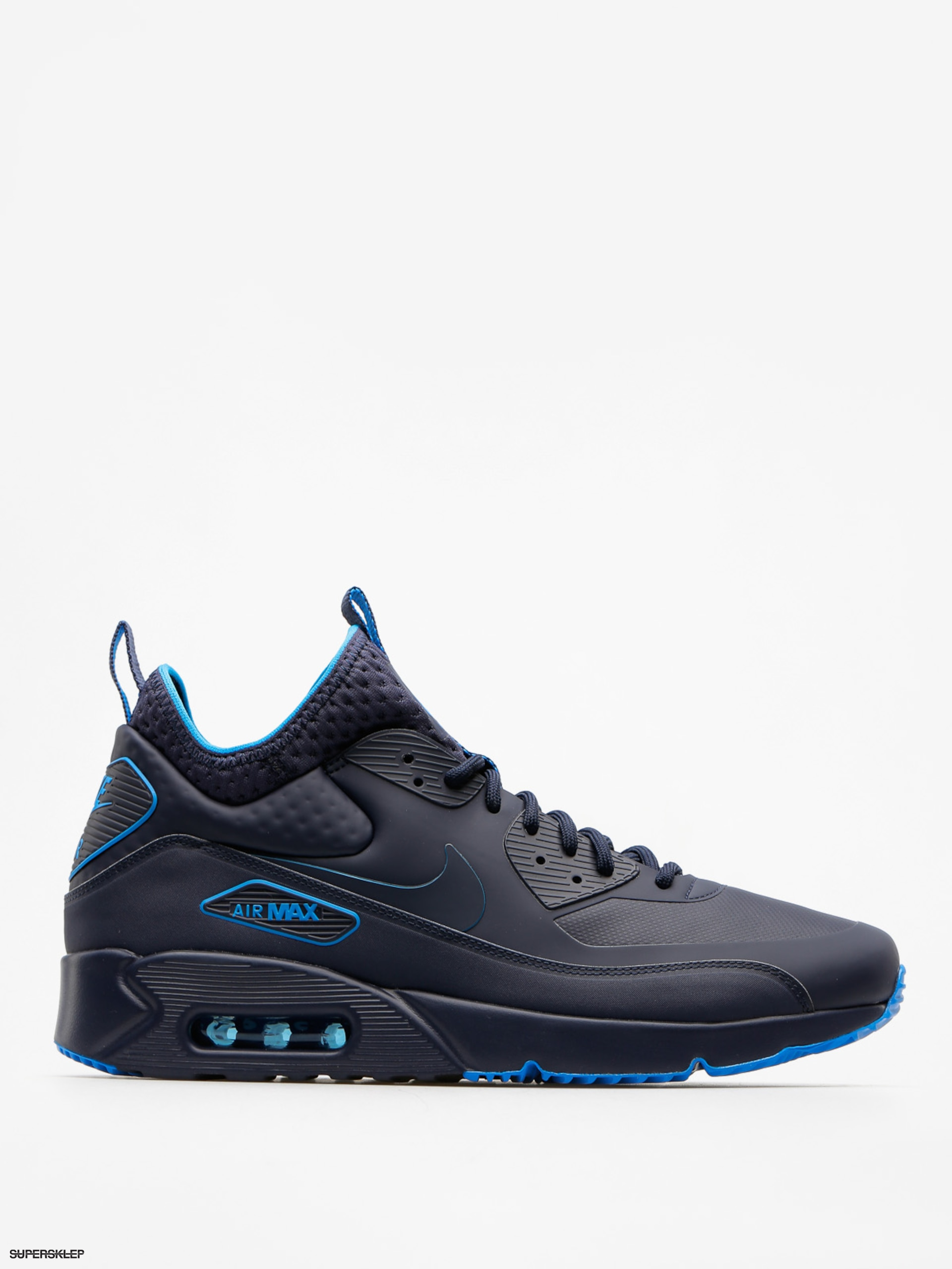 Nike Boty Air Max 90 Ultra Mid Winter Se (obsidian/obsidian thunder blue)