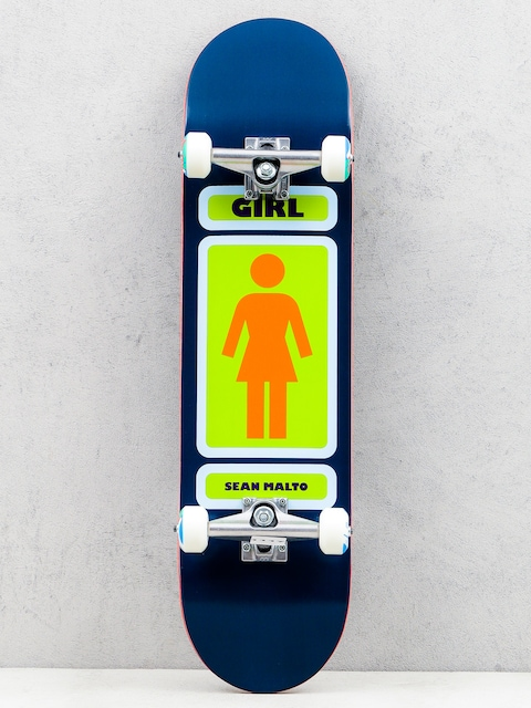 Girl Skateboard Skateboard Malto 93 (navy/green)