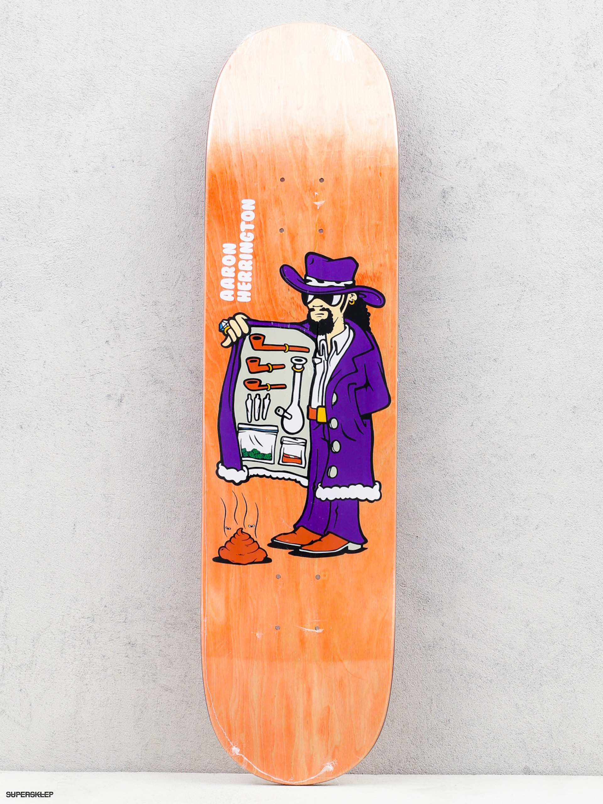 Polar Skate Deska Aaron Herrington Drug Pimp (orange)