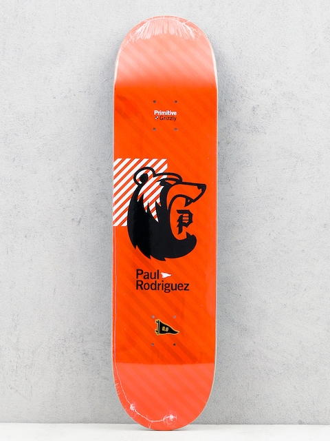 Primitive Deska x Grizzly Rodriguez Bearhaus (red)