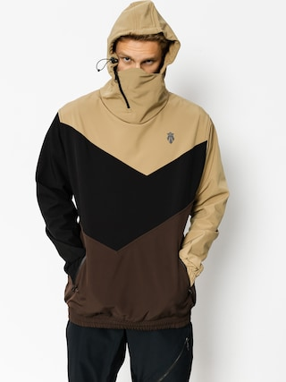 Snowboardová bunda Majesty Shadow Softshell (beige/black/brown)