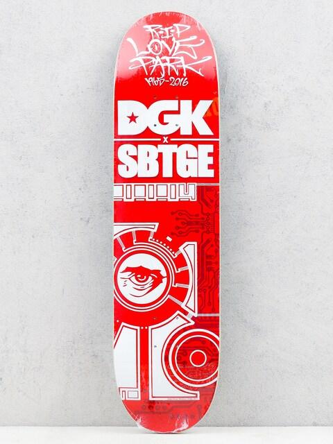 Deska DGK Sabotage (red/white)