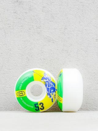Kolečka Gold Wheels Karat Club (white/green/yellow)