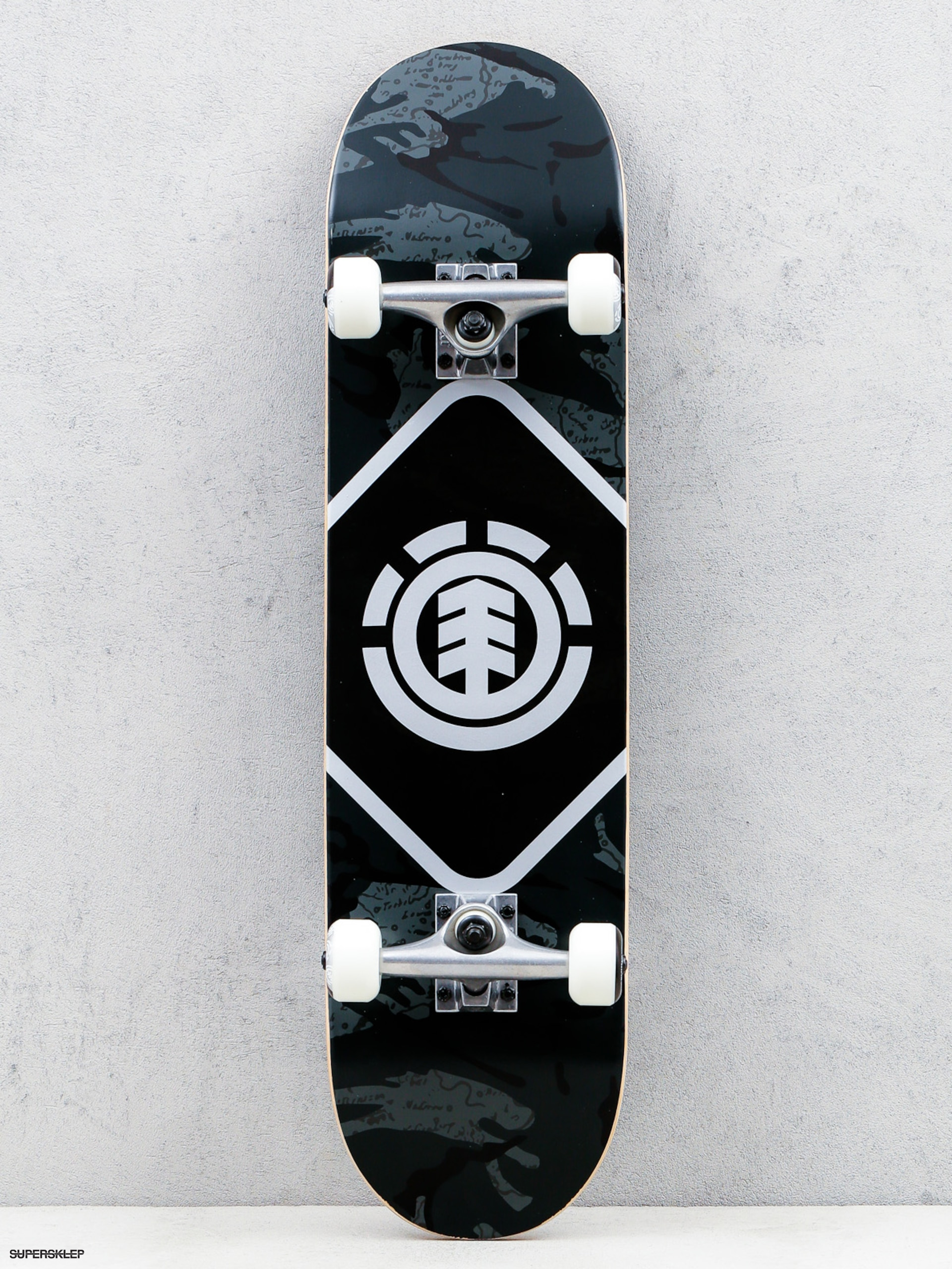 Skateboard Element Map Camo