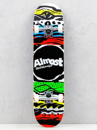Skateboard Almost Primal Print (multi)