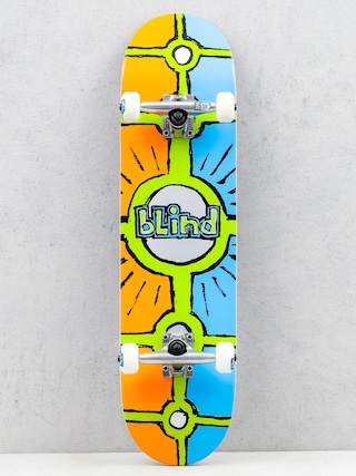 Skateboard Blind Holy Grail (orange/cyan)