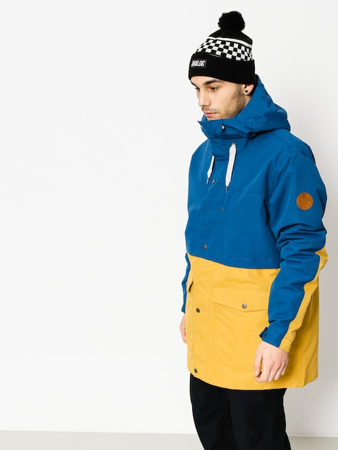 Snowboardová bunda Quiksilver Horizon (estate blue)
