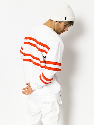 Prosto Mikina Old School Stripes (white)