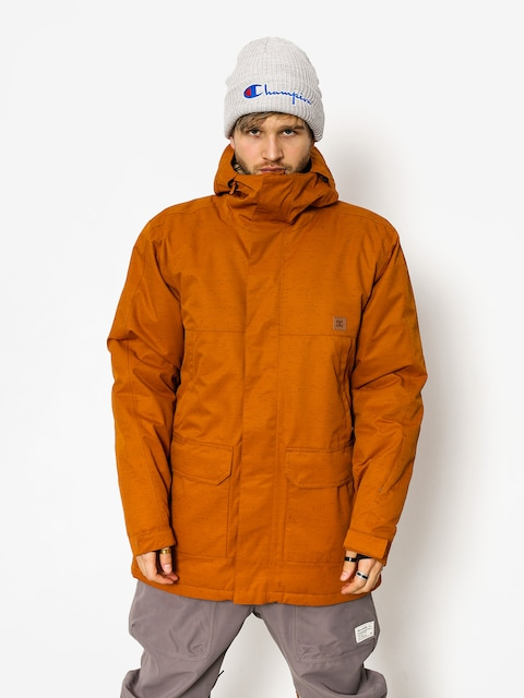 Snowboardová bunda DC Harbor (leather brown)
