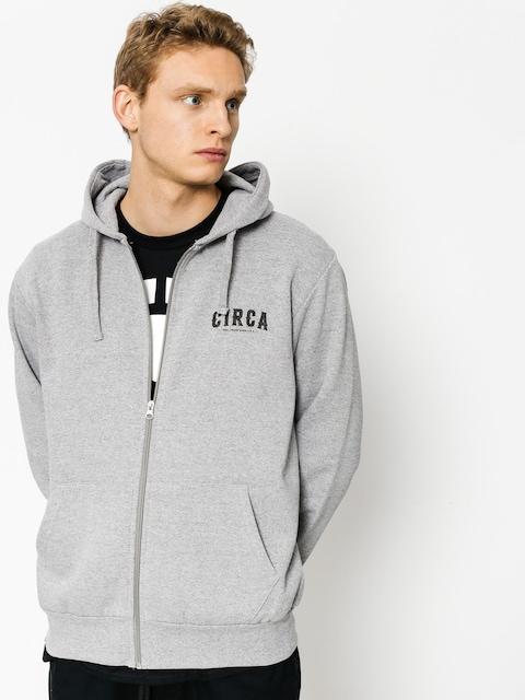 Mikina s kapucí Circa League ZHD (athletic grey)