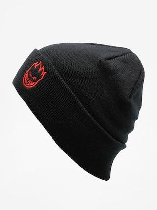 Čepice Spitfire Beanie Big Head Emb (black/red)