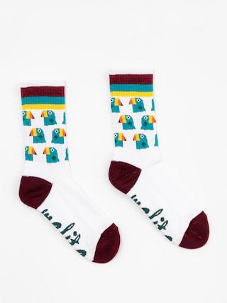 Ponožky Malita Toucans (white)