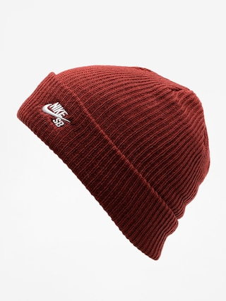 Čepice Nike SB Sb Fisherman Beanie (dark team red/white)