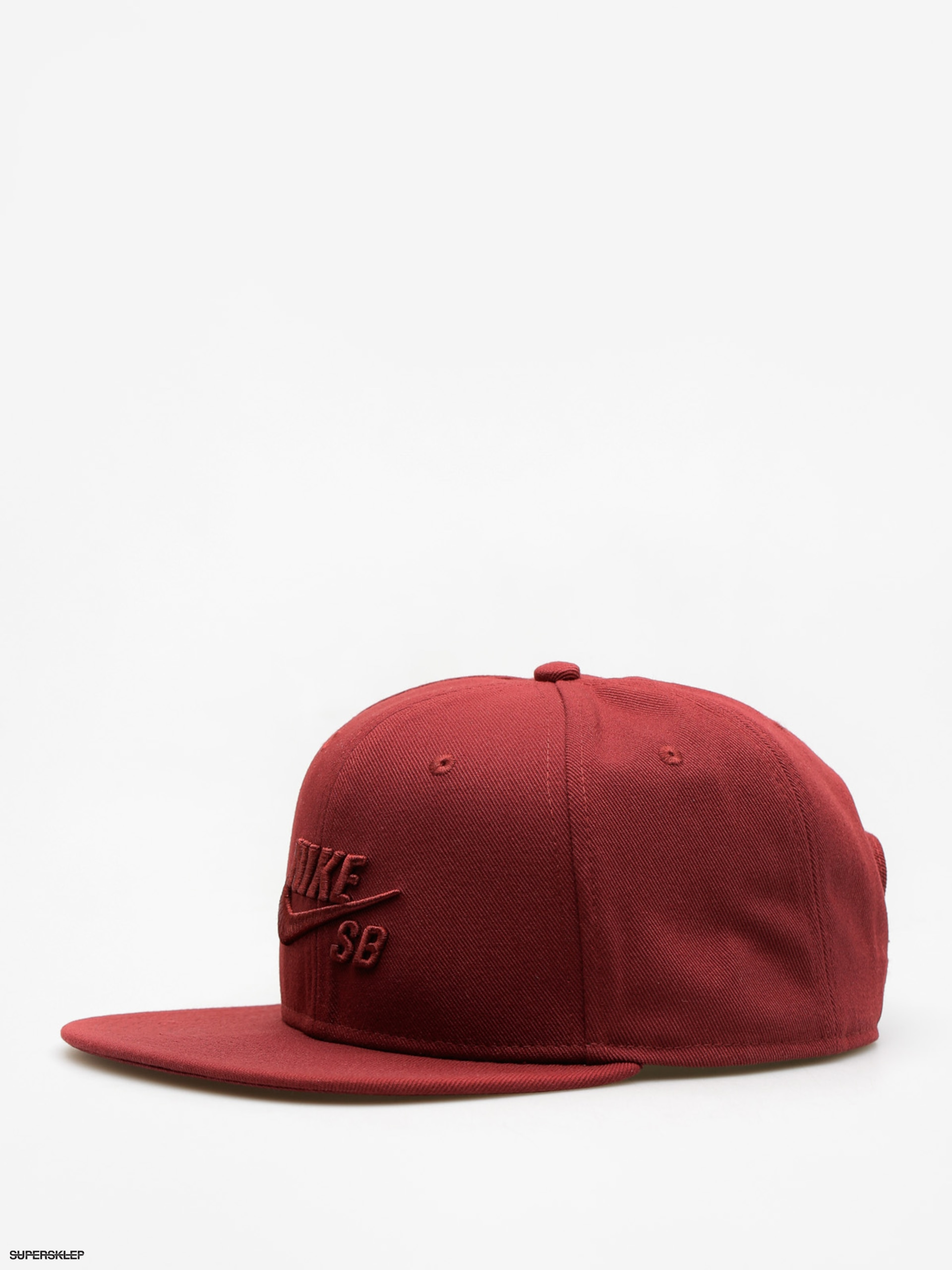 Kšiltovka  Nike SB Sb Icon Snapback ZD (dark team red/dark team red)