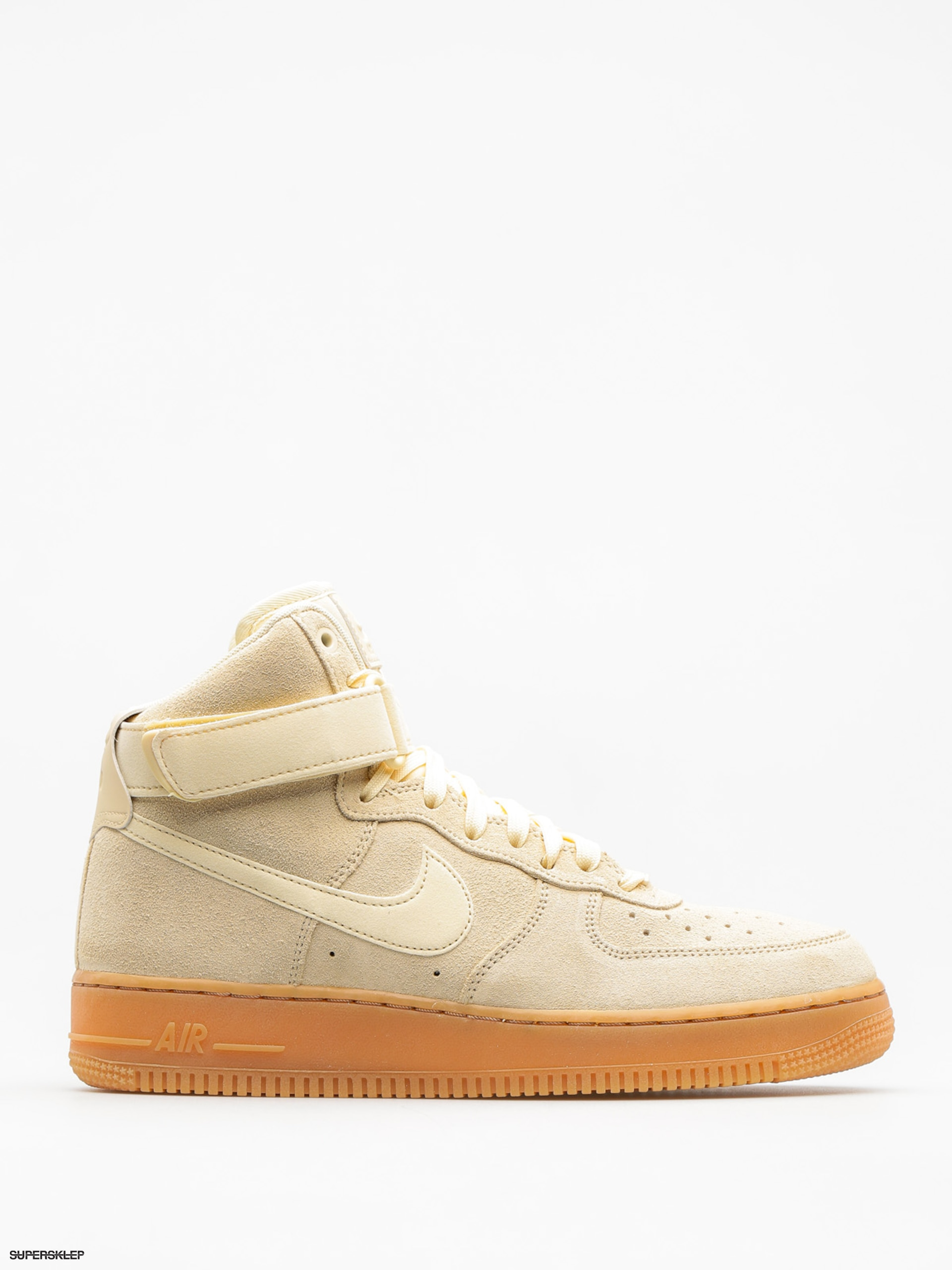 Boty Nike Air Force 1 High 07 Lv8 (muslin/muslin gum med brown ivory)