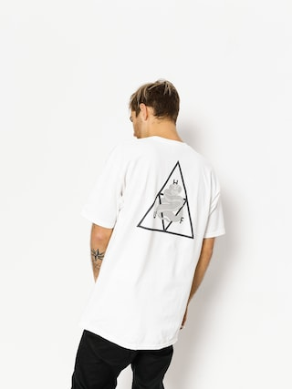 Tričko HUF Ambush Triple Triangle (white)