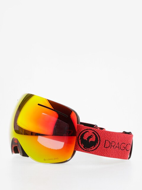 Brýle na snowboard Dragon X1 (mill/lumalens red ion/l rose)