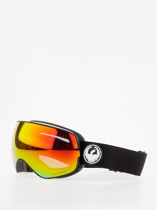 Bru00fdle na snowboard Dragon X2s (black/lumalens red ion/l rose)