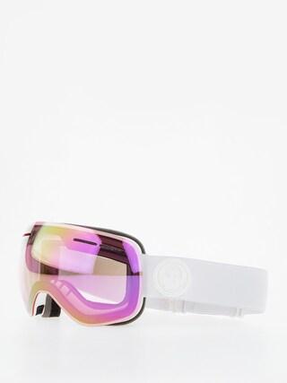 Bru00fdle na snowboard Dragon X1s (whiteout/lumalens pink ion/dark smoke)