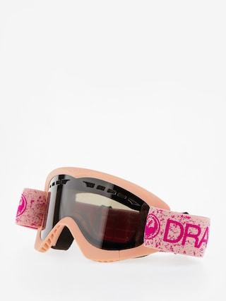 Bru00fdle na snowboard Dragon DXS (pink/dark smoke)