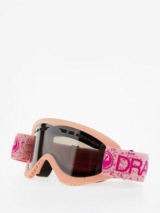 Brýle na snowboard Dragon DXS (pink/dark smoke)