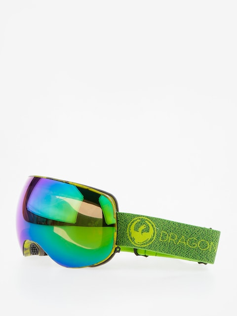 Brýle na snowboard Dragon X2 (mill/lumalens green ion/l amber)