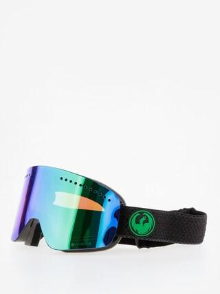 Bru00fdle na snowboard Dragon NFX (split/lumalens green ion/l amber)