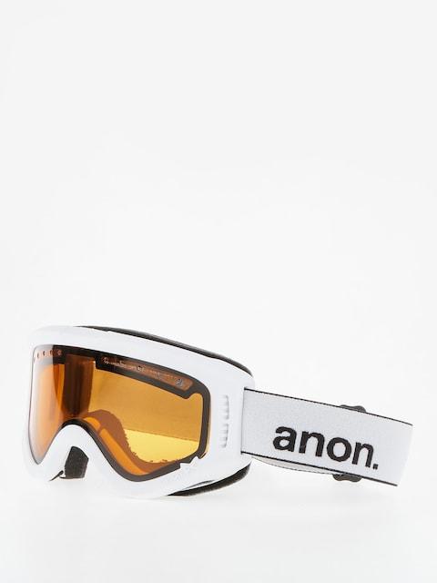 Brýle na snowboard Anon Tracker (white/amber)