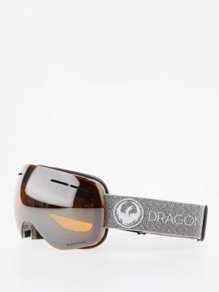Bru00fdle na snowboard Dragon X1s (mill/lumalens silver ion/dark smoke)
