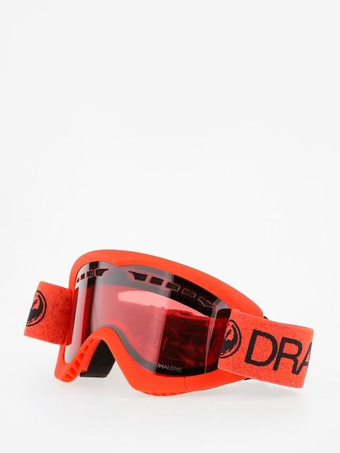 Brýle na snowboard Dragon DXS (melon/lumalens rose)
