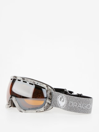 Bru00fdle na snowboard Dragon Rouge (mill/lumalens silver ion/dark smoke)