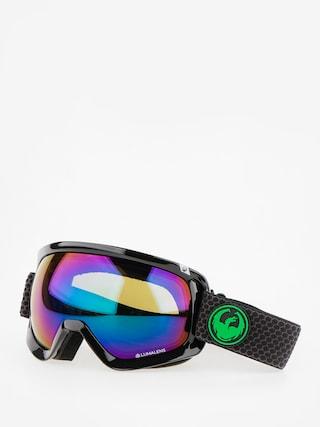 Bru00fdle na snowboard Dragon D3 (split/lumalens green ion/l amber)