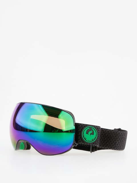 Brýle na snowboard Dragon X2 (split/lumalens green ion/l amber)