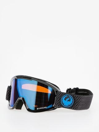 Brýle na snowboard Dragon DX2 (split/lumalens blue ion/l amber)