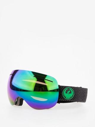Brýle na snowboard Dragon X1 (split/lumalens green ion/l amber)