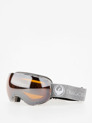 Brýle na snowboard Dragon X2s (mill/lumalens silver ion/dark smoke)