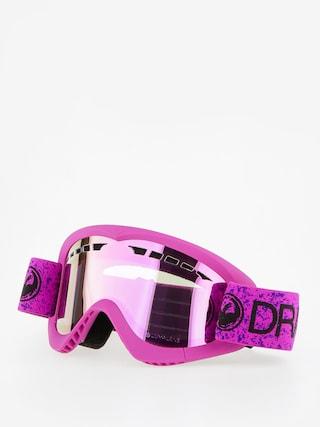 Brýle na snowboard Dragon DXS (violet/lumalnes pink ion)