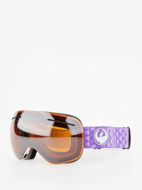 Brýle na snowboard Dragon X1s (amp/lumalens silver ion/dark smoke)